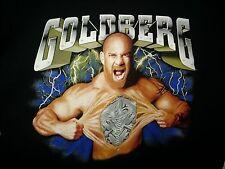 WCW Bill Goldberg L Large T-Shirt Man or Machine WWE WWF Who's Next TNA Spear