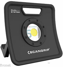 Scangrip NOVA 5K C+R COB LED Focos m batería Lámpara Luz de inundación extremo