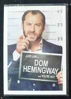 DOM HEMINGWAY  (DVD, 2014, WS)  Jude Law  NEW FACTORY SEALED