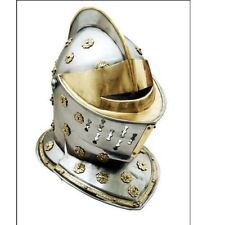 Golden Knight Helmet 18 Gauge Steel