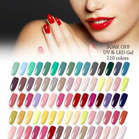 Nail Art Vernis à Ongles Semi-permanent Gel Polish UV Base Top Coat Manucure DIY