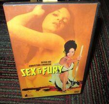 SEX & FURY UNRATED DVD MOVIE, REIKO IKE, CHRISTINA L, JAPANESE SEXPLOITATION,OOP