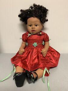 KYMBERLI H DURDEN 2006 LIFE-LIKE REBORN NEWBORN SILICONE BABY DOLL ETHNIC