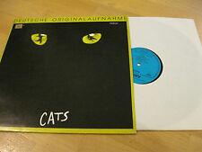 LP Cats CATS Musical Deutsche Originalaufnahme Vinyl AMIGA DDR 856158
