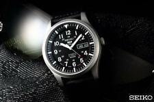 Seiko 5 SNZG15J Military Automatic Sports Japan Made Men's Watch