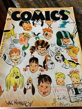 COMICS How to Draw by Walter Foster 1950 Large Paperback
