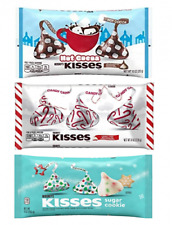Hersheys Kisses Christmas Holiday Variety Pack Hot Cocoa Candy Cane Sugar Cookie