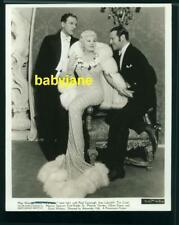 MAE WEST IVAN LEBEDEFF PAUL CAVANAGH VINTAGE 8X10 PHOTO 1935 GOIN' TO TOWN DB WT