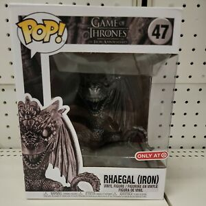 Funko Pop Game Of Thrones RHAEGAL (IRON) 47 IN HAND Ships TODAY Target Exclusive
