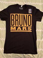 Bruno Mars Concert T Shirt, Unisex, Size M