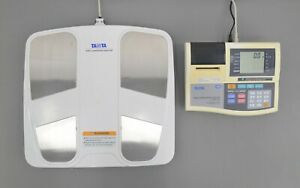 Tanita TBF-310 Total Body Composition Analyzer w/ Floor Scale Platform & Accs