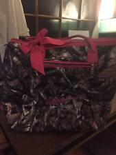 Quilted Tote Purse Hunter Camo Hot Pink Monogrammed