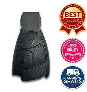Guscio Scocca Cover Per Telecomando 3 Tasti Mercedes Benz Classe A B C E CLK SLK