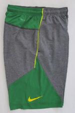 Men's Nike NCAA Oregon Ducks Short, New Gray Green Yellow Basketball Short Sz S