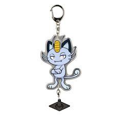[Japan Pokemon Center Limited] Acrylic Key Chain alola Meowth