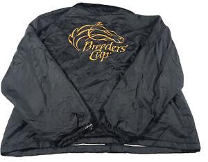 Vintage Breeders Cup Windbreaker Jacket Size Xl (FLAWS-READ) Q21