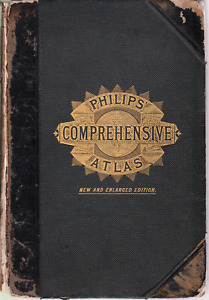 Antique Atlas, 1884- modern and classical maps