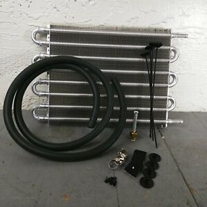 """1936-53 Chevy 8-Row 15"""" Transmission Trans Oil Cooler ramjet six deluxe pickup"""