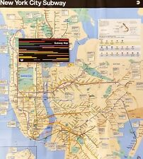 Official New York City MTA NYC Subway Map 2020 Edition THE MAP   Brand New