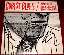 CUBIST BLUES..ALAN VEGA ALEX CHILTON..DOUBLE VINYL LP NR MINT GATEFOLD WITH OBI