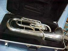Blessing Silver Euphonium Baritone, Very Good Used Condition