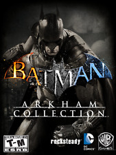 Batman Arkham Collection (4 Games) (PC, 2015) [Steam]