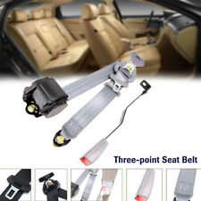 1 Set Automatic Shrink Seat Belt Three-point Clip Buckle Safety Belt Extension