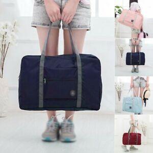 Unisex Travel Maternity Foldable Duffle Weekend Bag Gym Luggage Handbag Holdall