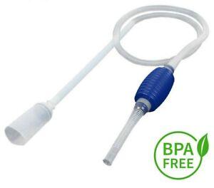 Aquarium Fish Tank Vacuum Water Change Siphon Gravel Suction Pipe Filter new2020