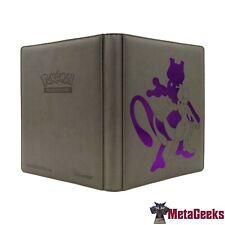 More details for ultra pro pokemon tcg mewtwo premium 9 pocket portfolio pro-binder (new)