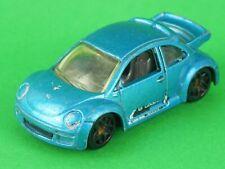 Hot Wheels New Beetle cup blu maggiolone Mattel modellino car auto da collezione