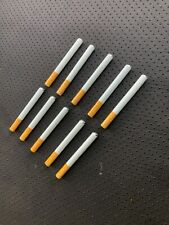"""10x Metal One Hitter Pipe Cigarette Style Dugout Bat Large 3"""" Free Usa Shipping"""