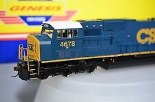 ATHEARN GENESIS CSX YN3 Scheme SD70M #4678 HO Diesel Locomotive G6171 Blue