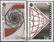 Francia 2396-2397 (edición completa) usado 1983 obras del Espíritu