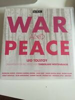 audio book 10 CDS WAR AND PEACE Leo Tolstoy Dramatized For BBC RADIO 4 by Timber