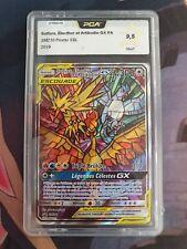 Pokémon PCA 9.5 Sulfura Electhor et Artikodin Gx FA SM210 Destinés Occultes Fr