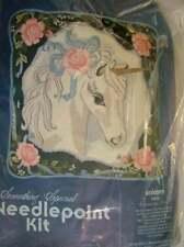 Something Special Unicorn Needlepoint Pillow Kit