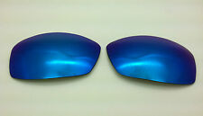 Rayban 4075 Custom Replacement Lenses Grey with Blue Mirror Non-Polarized NEW!
