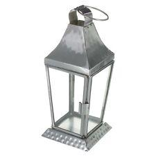 MARTELLATA TEALIGHT titolare Lantern - - - - da appendere outdoor indoor tea light in metallo