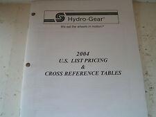Hydrogear Hydrostatic Dealer Manual Binder Set -Service Manuals Manual#Bln-50909