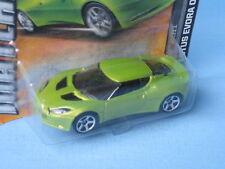 Matchbox Lotus Evora Metallic Green Body English Sports Toy Model Car 70mm Long