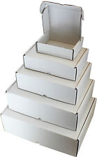 WHITE BOXES C5 A5 C4 A4 C3 A3 SHIPPING PACKAGING CARDBOARD CARTON GIFT PARCEL