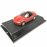 Mazda MX-5 Cabriolet Sports Car 1:43 Model Car Diecast Gift Toy Vehicle Red