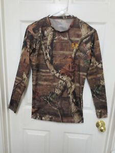 Under Armour Heat Gear Size XL Break UP Camo Long Sleeve Compression Shirt
