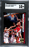 1996-97 Stadium Club #101 Michael Jordan Bulls SGC 10 GEM MINT