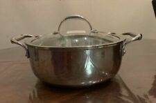 Princess House Stainless Steel 4 QT Casserole Pot
