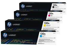 SET HP Genuine 130A Toners CF350A CF351A CF352A CF353A For PRO MFP M153 M176