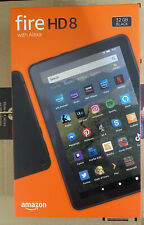 AMAZON Fire HD 8 Tablet (2020) - 32 GB Black - BRAND NEW IN BOX - FREE DELIVERY
