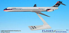 Delta Air Lines McDonnell Douglas MD-90 1:200 Modell Lackierung 1997-2000