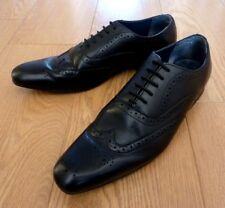 next Design est 1982 Men's Brogues Oxford Formal Black Leather Shoes UK 9 EU 43